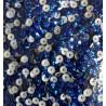 Hot fix Pailletten - LASER DARK BLUE