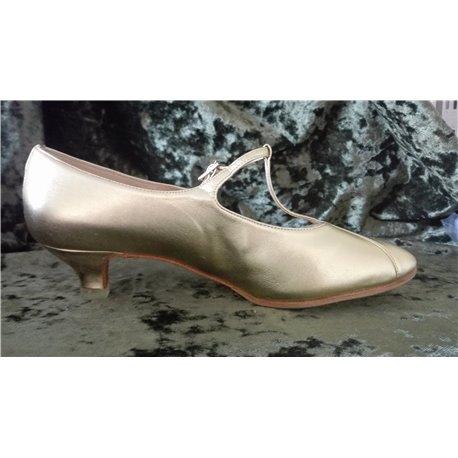 Asja - Gr. 25,0 cm - Leder Gold