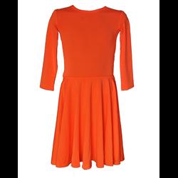 Basickleid 17 - Apfelsine - Größe 134/140