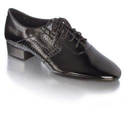 Oxford flexi - Gr. 20,0 cm - Leder schwarz matt
