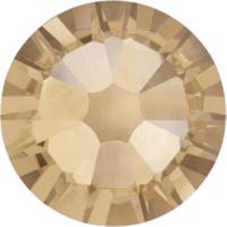Swarovski® 2078 Crystal Golden Shadow Hotfix SS34