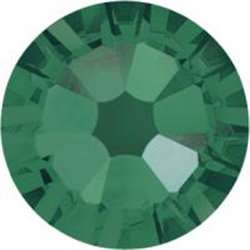 Swarovski® 2078 Emerald Hotfix SS34