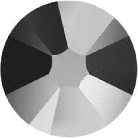 Swarovski® 2078 Jet Hematite Hotfix SS34