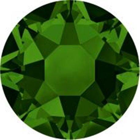 Swarovski® 2078 Dark Moss Green Hotfix SS34