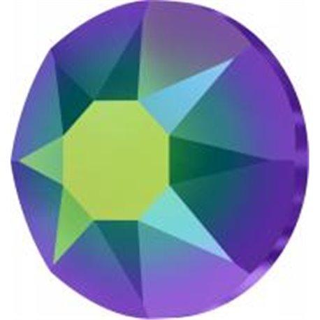 Swarovski® 2078 Crystal Scarabaeus Green Hotfix SS34
