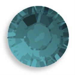 Swarovski® 2078 Blue Zircon Satin Hotfix SS30