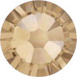 Swarovski® 2078 Crystal Golden Shadow Hotfix SS16