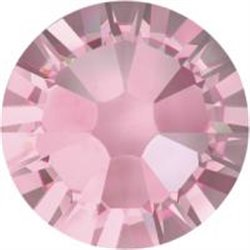 Swarovski® 2078 Light Rose Hotfix SS30