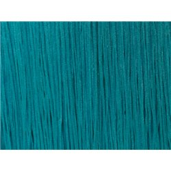 TACTEL STRETCH FRINGE 15CM - BLUE ZIRCON