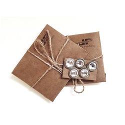 Magnet-Pins für Rückennummern mit Kristallen