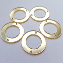 Aufnähspiegel Ring 25mm Farbe 2